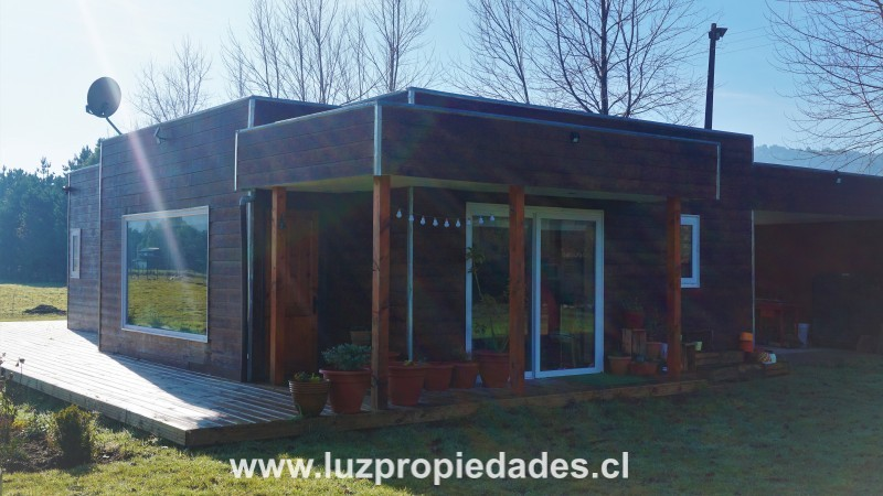 Casa en Parcela, puente Rio Chico Km 1,5, Chamiza - Luz Propiedades