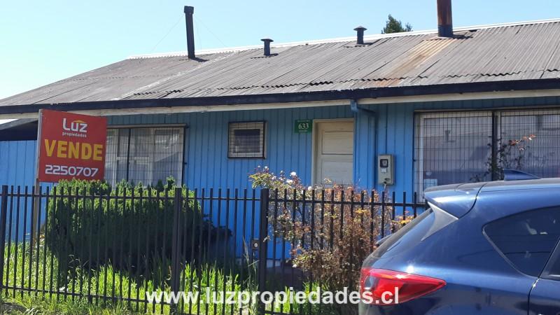 Butalcura Nº 633, Población Chiloé  - Luz Propiedades