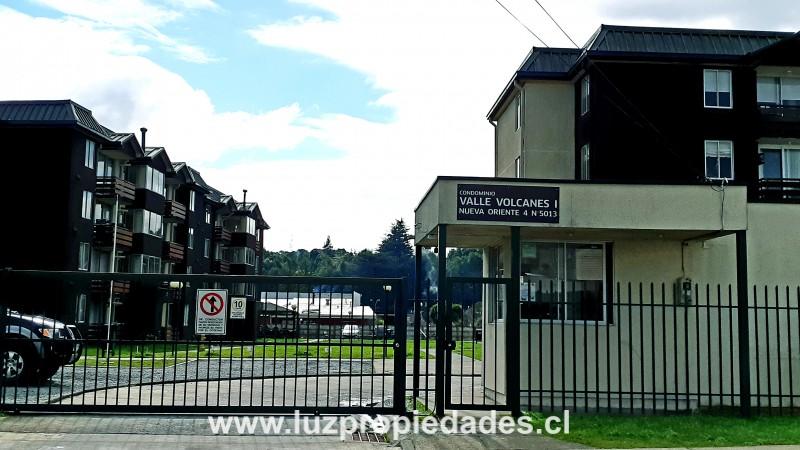 Nva. Oriente 4 Nº5013, Condominio Los Volcanes I, Depto 124 - Luz Propiedades