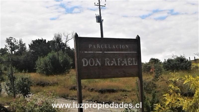 Parcela Don Rafael, Sector Jardín Austral - Luz Propiedades